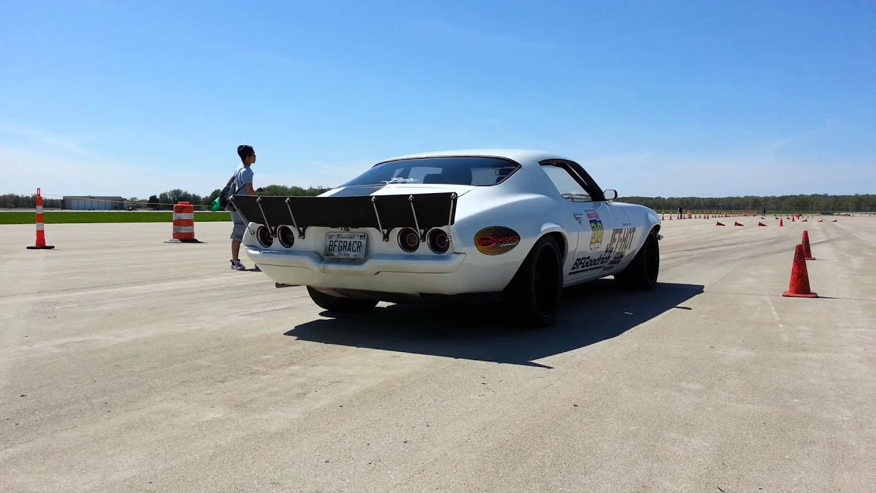 Midwest Muscle Car Challenge AUTOX by KYSCCA - YouTube