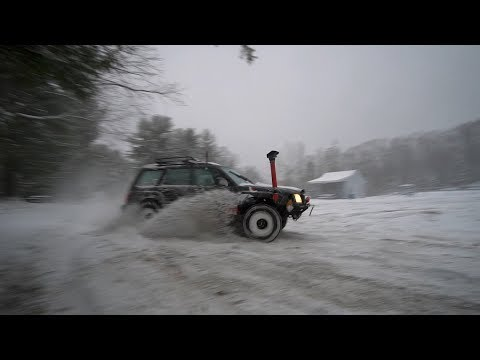 LIFTED FORESTER FIRST SNOW FALL!