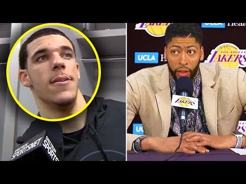 Lonzo Ball CURSES OUT LEBRON JAMES You TRADED ME & Anthony Davis IS EXCITED WE WILL WIN