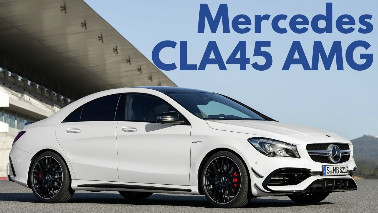 2017 Mercedes Cla45 Amg 4matic Interior And Exterior Youtube