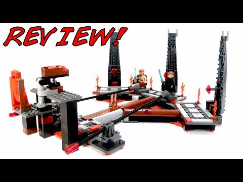 LEGO 7257 Ultimate Lightsaber Duel Review! | LEGO Star Wars 2005 Revenge of the Sith Set!