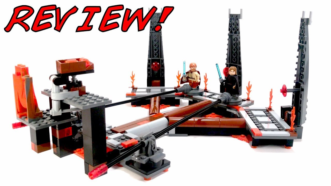 Lego 7257 Ultimate Lightsaber Duel Review Lego Star Wars 2005