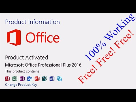 how to crack microsoft office 2016 without product key