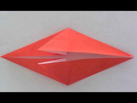 Origami How To Make A Fish Base Youtube