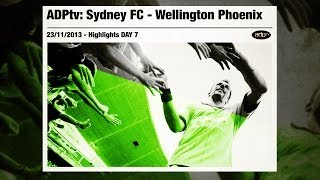 ADPtv | SYDNEY FC - WELLINGTON PHOENIX 2-1 | Highlights 2013/14