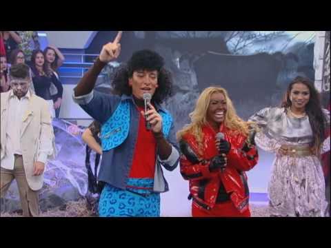 """Joelma canta """"Voltando Pro Pará"""" vestida de Michael Jackson"""