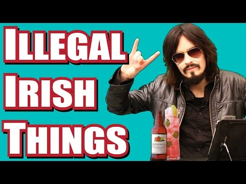 ILLEGAL Things 'Irish People' Do All The Time!