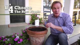 How-To Succeed At Container Gardening with P Allen Smith