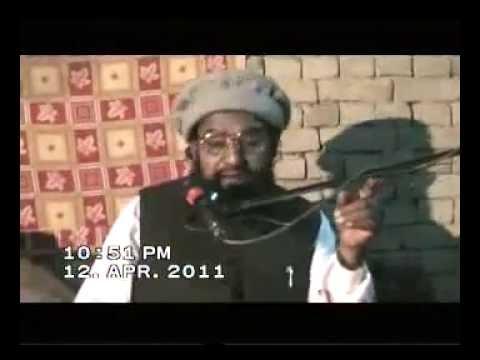 Allama Ahmad Saeed Khan Multani RH (Qanoon e Bakhshis) 12-4-2011 Moor jangi Part 1/2