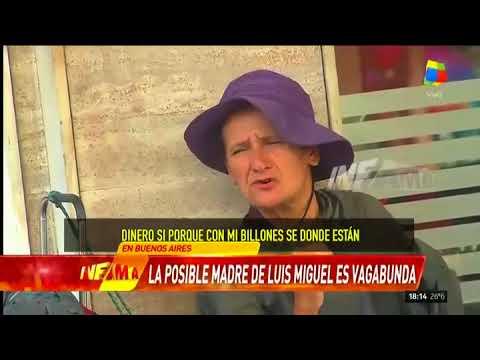 La presunta madre de Luis Miguel con Infama