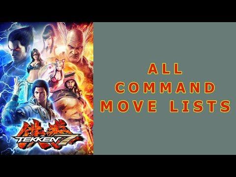 Tekken 7 - All Command Moves