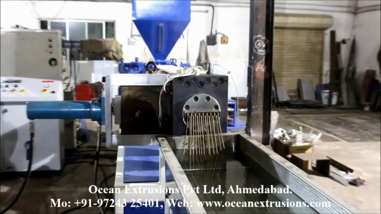 Plastic Extrusion Machine