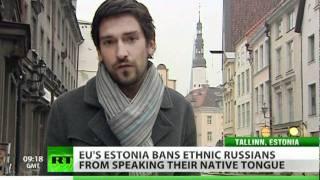 Language Inquisition: Estonia bans speaking Russian