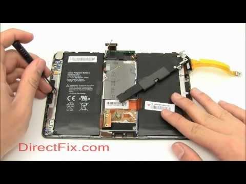 BlackBerry PlayBook Teardown & Repair Directions By DirectFix.com