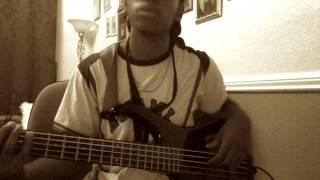 Shakka - Say Nada ft JME (REMIX) - Bass Cover - Courtney Rowe