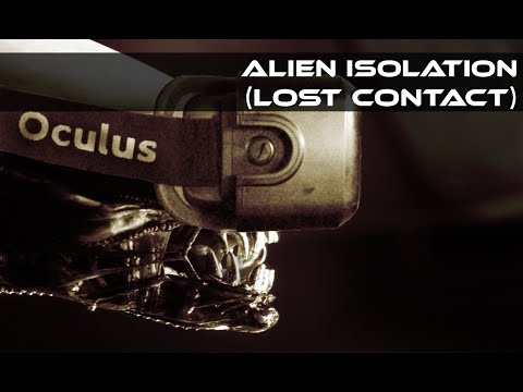 Alien Isolation - Quicky Lost Contact (Oculus Rift Virtual Reality)