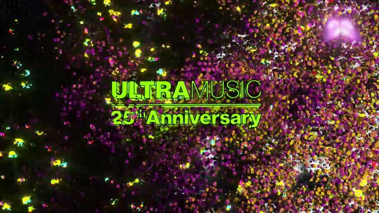 Ultra 25 Years House Mix (Visualizer) [Ultra Music]