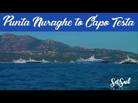 Sailing Eastern Mediterranean: E32 Punta Nuraghe to Capo Testa