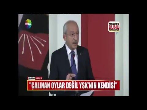 """Kılıçdaroğlu: """"Çalınan oylar değil YSK'nın kendisi"""""""