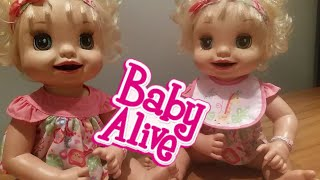 BABY ALIVE TWINS 2007 Learn to Potty. & How to make your own POTTY. Baby Alive Adventures
