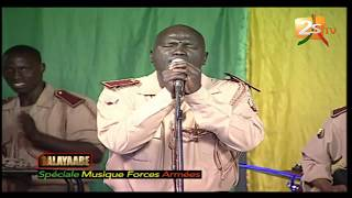 Nguéweul Yeungotina bir  armée  - Mbalax pur avec la musique des forces armées