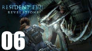 Resident Evil Revelations - Walkthrough Part 6 Gameplay Let