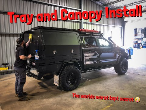Tray and Canopy Install at MITS alloy *EP23*