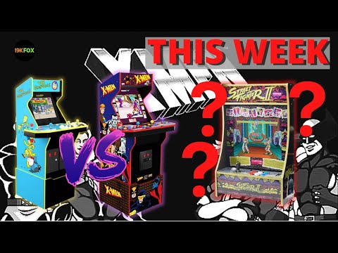 This Week -  X-men Vs Simpsons Preorders, Partycades??, Projects and Bourbon from 19kfox
