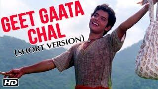 Tune in to this popular song geet gaata chal title track starring sachin, sarika and khyati the lead. movie: singers: jaspal singh music: ...