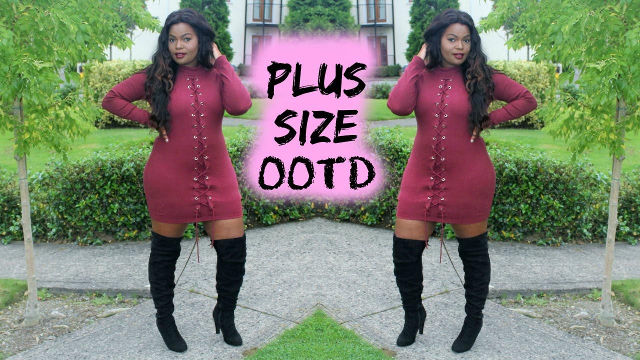 plus-size ootd | sarah ashcroft × missguided | brenda mang - youtube