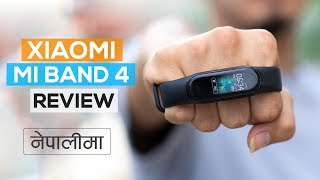 Xiaomi Mi band 4 Review (in Nepali)