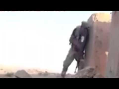 ذكاء جندي سعودي في الحد الجنوبي محاصر من قناص حوثي