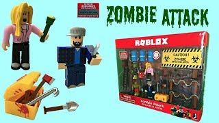 Roblox Zombie Attack Toy & Code Item, Series 2, Stop-Motion Animation, Playset #RobloxToys #Roblox