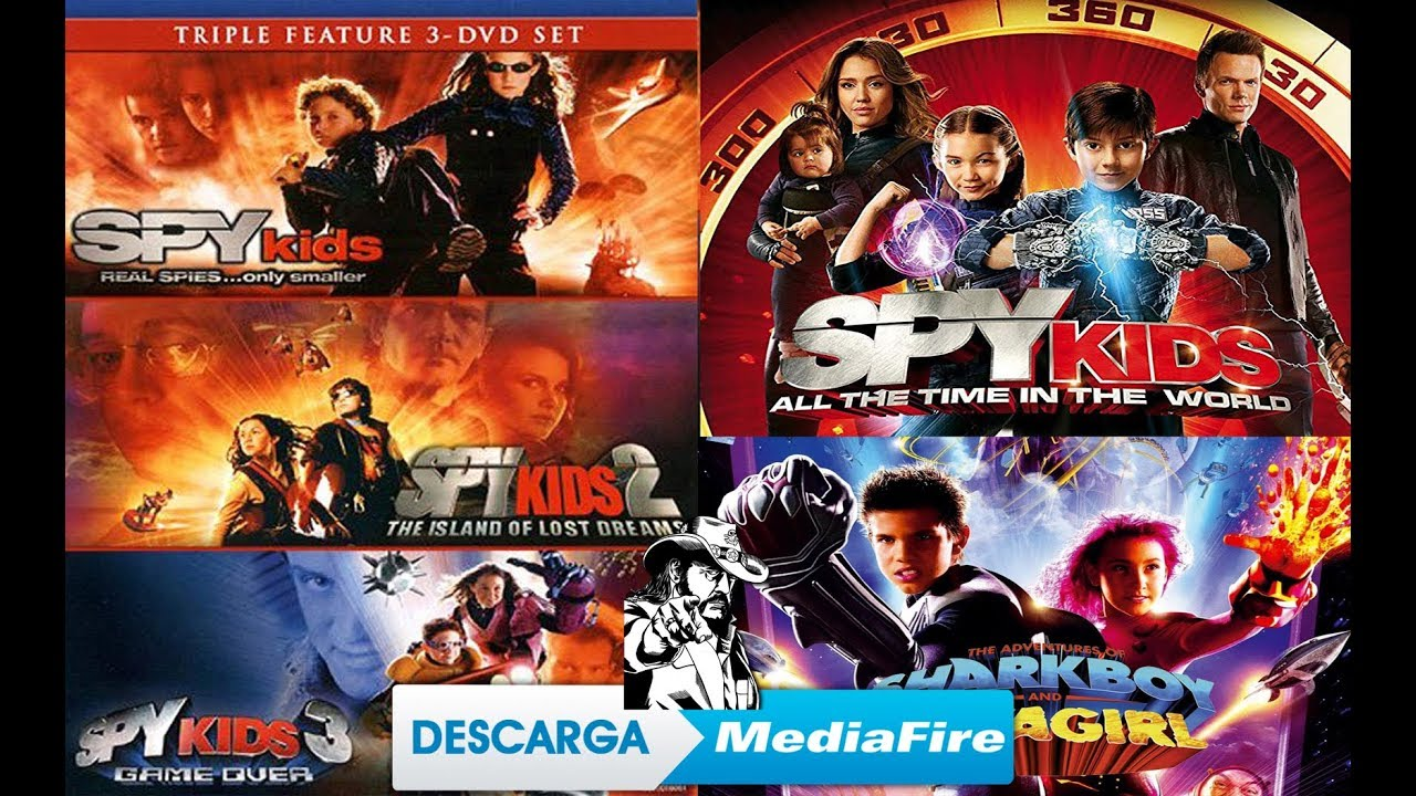 Mini Espias 1 2 3 Y 4 Spy Kids Shark Boy Y Lava Girl Peliculas Español Latino Youtube