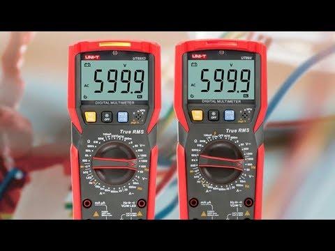Мультиметр UNIT UT89XD и UT89X