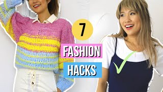 7 Fashion Hacks EVERY Student Must Know! *life-changing*