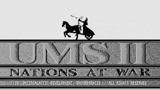 ATARI ST UMS Universal Military Simulator II 2 Nations at War