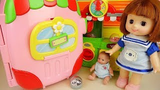 Baby doll cart car play house toys baby doli play
