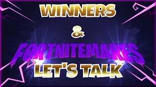 Giveaway Winners & Event Talk - Fortnite StW | PvE