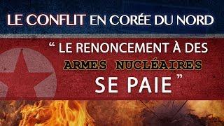 info / Le conflit en Corée du Nord – « Le renoncement à des armes nucléaires se paie »