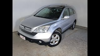 (SOLD) Automatic 4×4 SUV Honda CR-V Sport 2008 Review