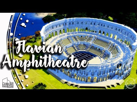 The Sims 4 Google Replicate #3 - Flavian Amphitheatre Colosseum Speed Build