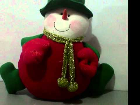 muñecos Navideños Mirian ramos.wmv - YouTube