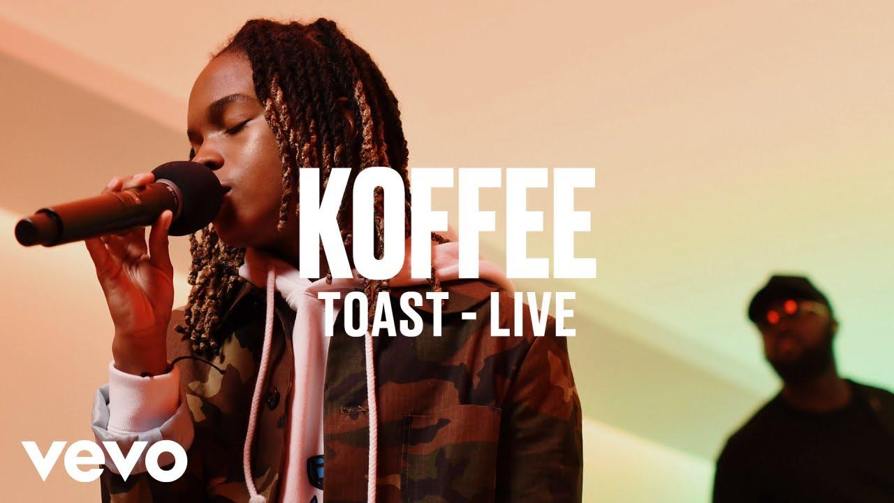 Koffee — Toast (Live) — Vevo DSCVR