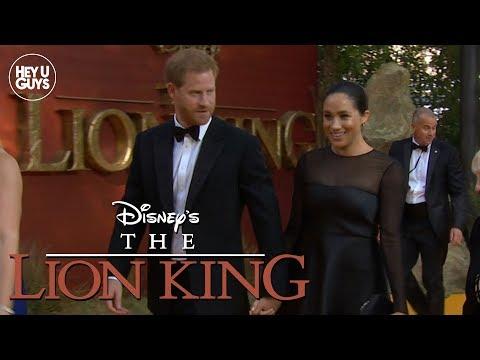 The Lion King European Premiere Royal Arrivals Prince Harry & Meghan Markle