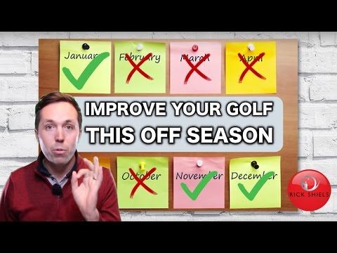 HOW TO IMPROVE YOUR GOLF IN THE OFF SEASON!