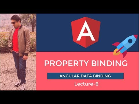 Angular Tutorial 2019 | Property Binding | Lecture-6 Urdu/Hindi thumbnail