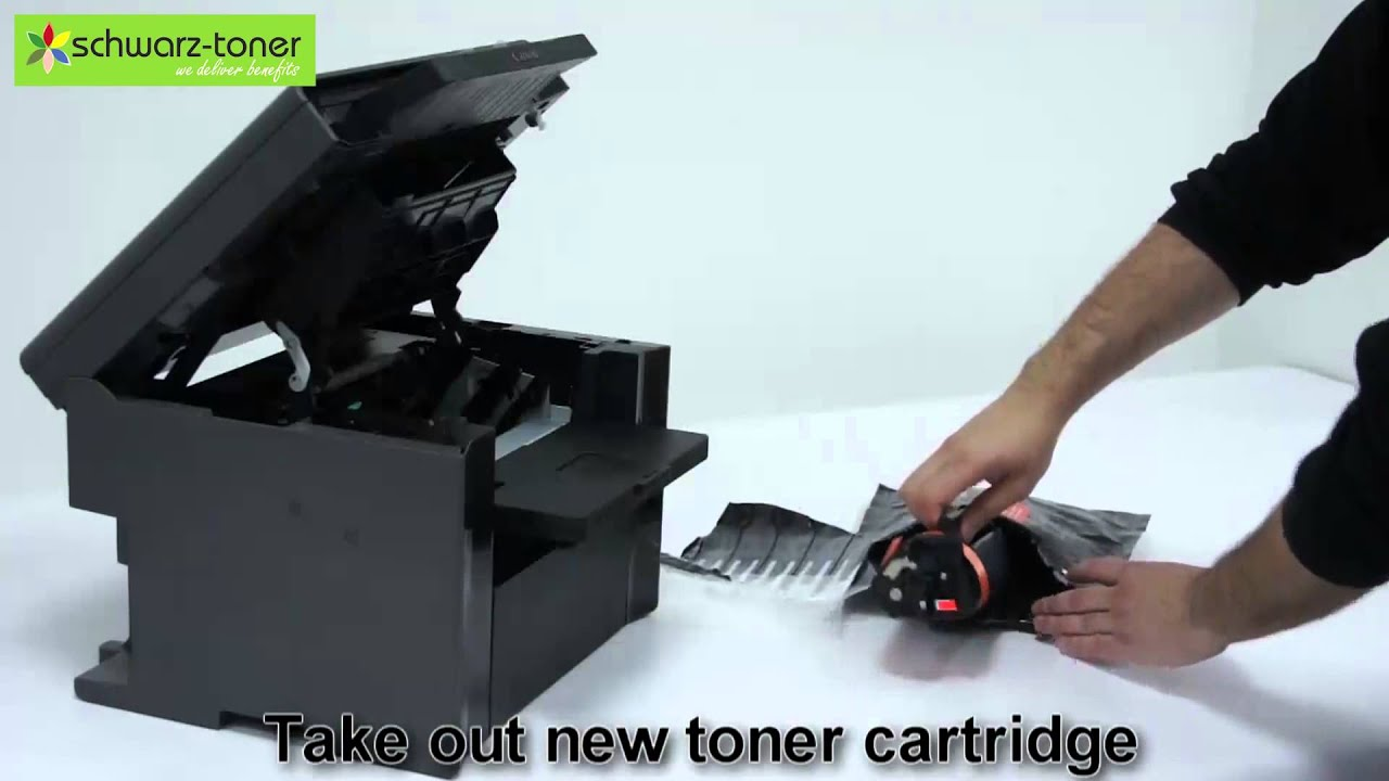 Canon MF 4410 Toner Cartridge Replacement - user guide (7232A) - YouTube
