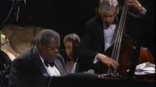 "Oscar Peterson Trio - ""Satin Doll"" - 1989"