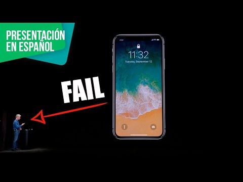 iPhone 8, iPhone X - Presentación en español